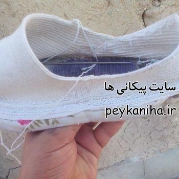 تخت کشی  و گیوه دوزی در پیکان اصفهان